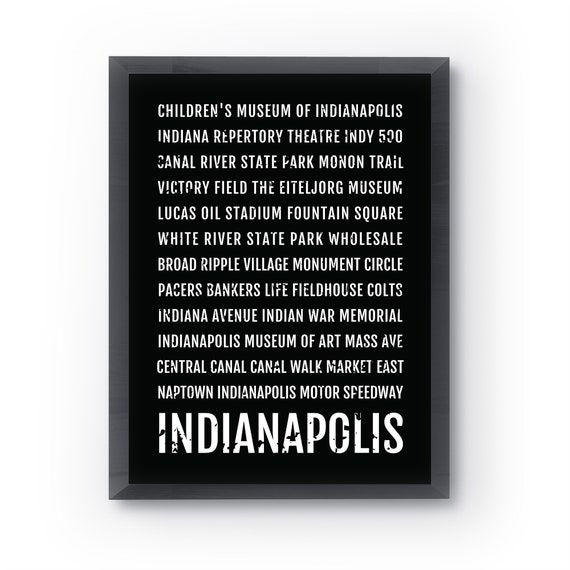 Indianapolis Print, Indianapolis Subway Sign Poster, Indiana Wall Art, on maine's map, indianapolis indiana map, indiana state map, india's map, nevada's map, mississippi's map, indiana river map, louisiana's map,