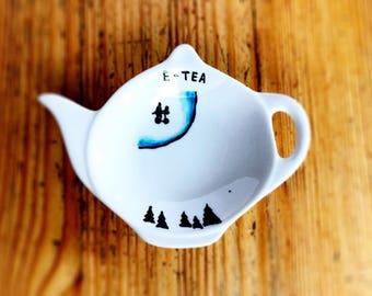 E.T. Tea bag tidy
