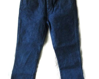 7be25ed8 Wrangler Mens Blue Cotton Denim Jeans Pants Tag Size 30x30 W30 L30 Used  Condition Made in Mexico