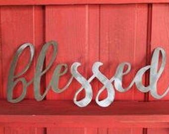 Bare Metal word signs