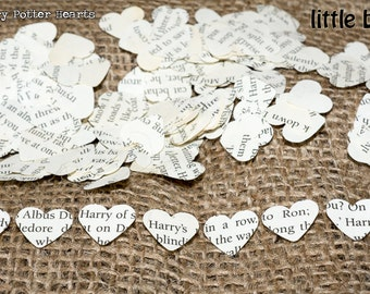 1000 x Harry Potter Confetti Hearts