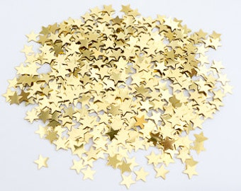 Gold Stars - Wedding Table Confetti