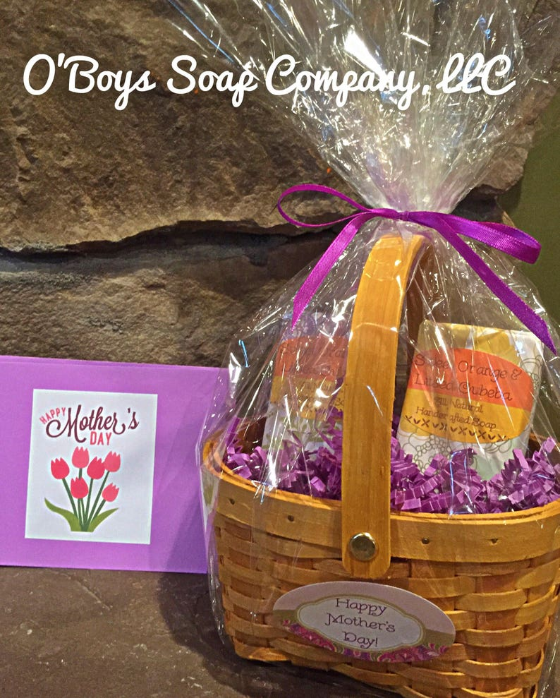 Teacher Appreciation Gifts Gift Basket Of Soap Customized