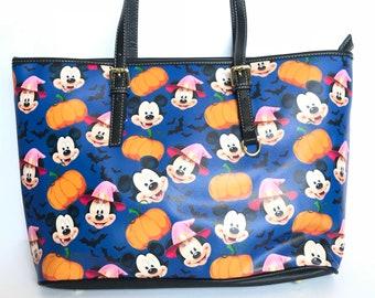 91575ded7 Mickey Halloween Purse | Mickey Mouse Purse | Disney Halloween Purse | Mickey  Mouse Tote | Disney Tote | Disney Purse | Disneyland Bag