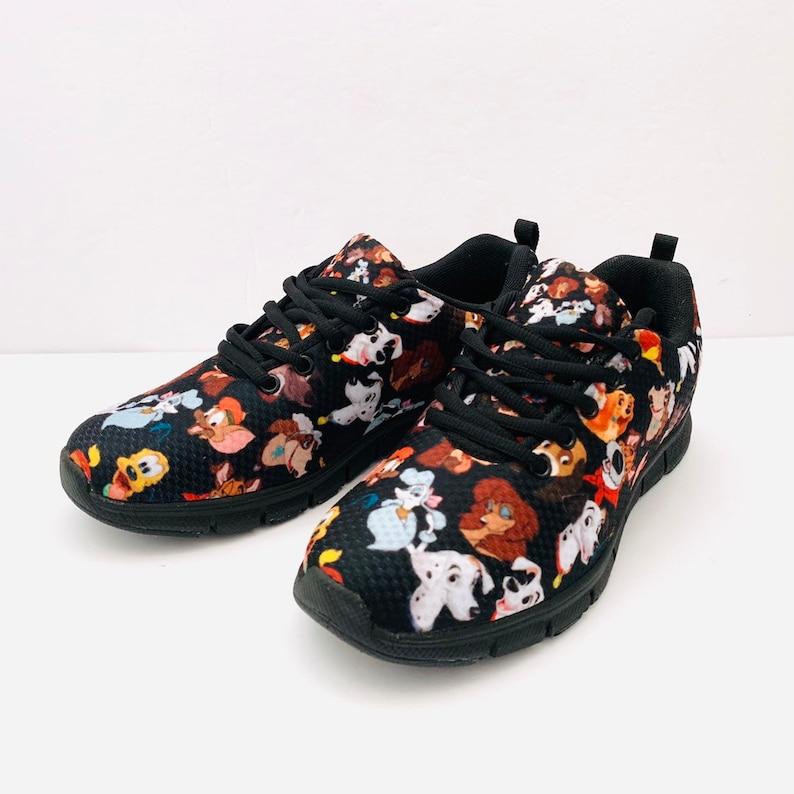 4b426b5ba63cb Men & Women Disney Dogs Shoes   Disney Dogs Shoes   Disney Dogs   Disney  Shoes   Disney Running Shoes   Work Shoes   Walking Shoes
