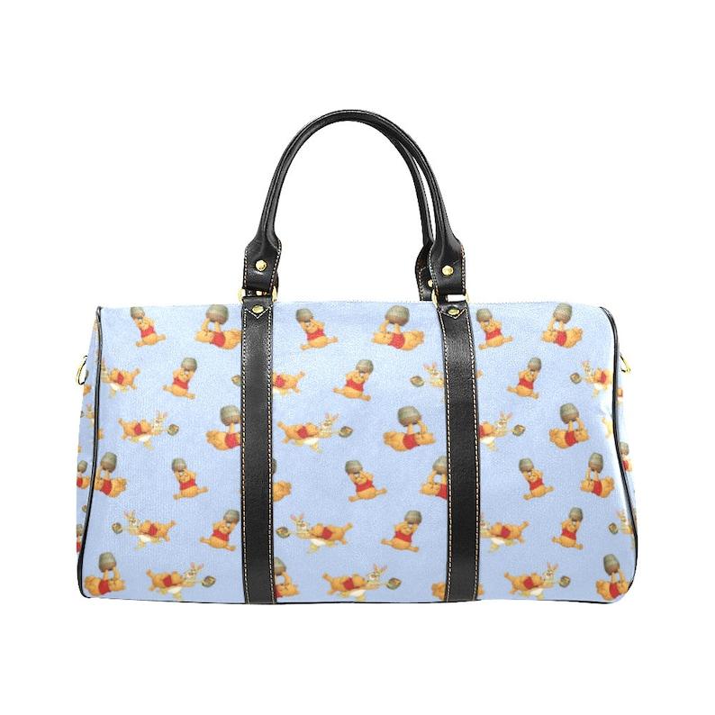 Winnie The Pooh Travel Bag Pooh Bear Duffel Bag Disney  a5d701d4d
