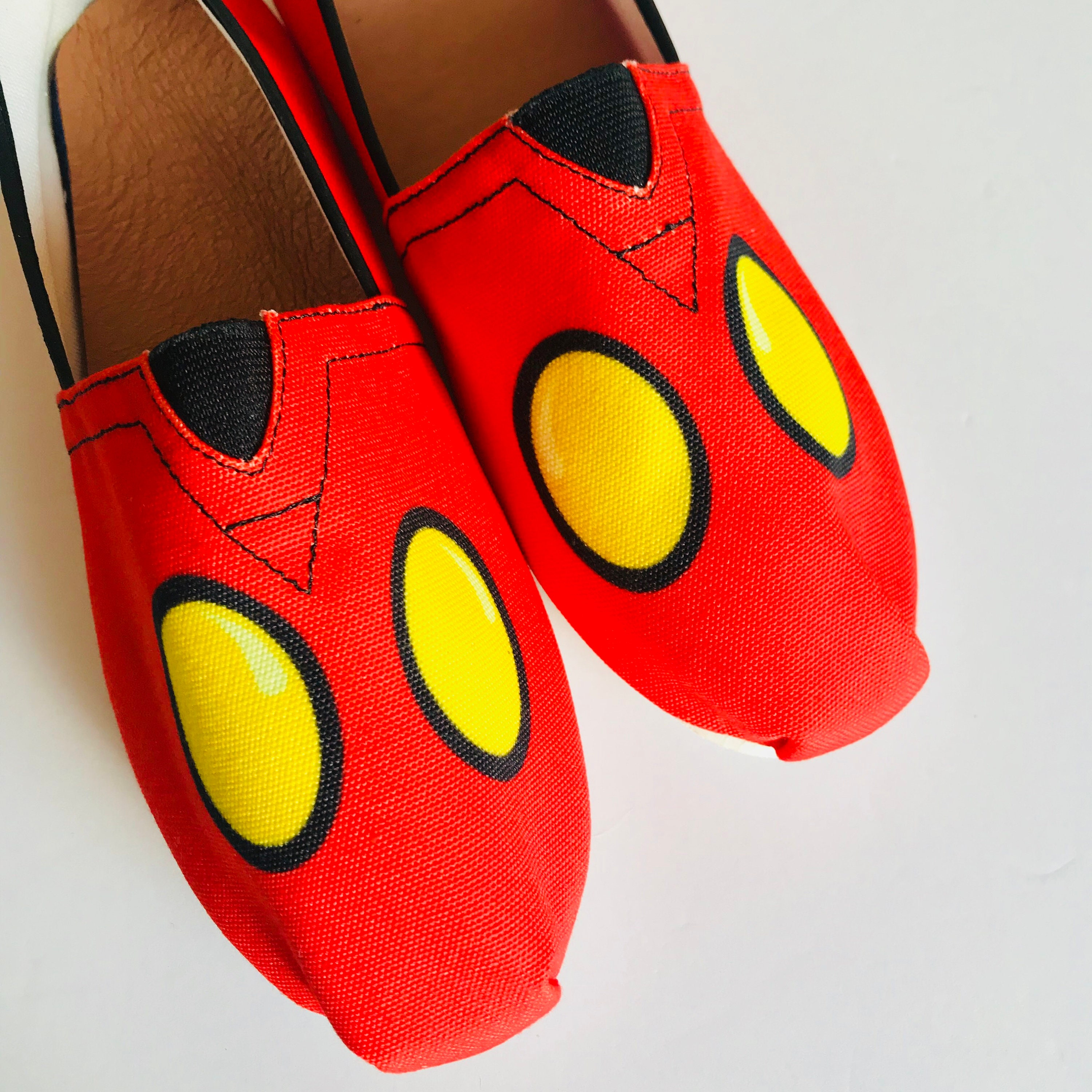Mickey Shorts Shoes | Mickey Mickey Mouse Shoes | Mickey | Shoes | Disney Shoes | Disneyland Shoes | Disney World Shoes | Disney Slip On Shoes 4bc29d