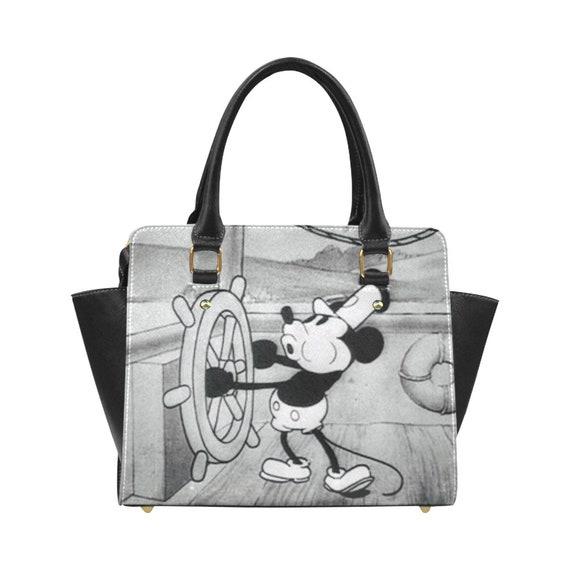 gutes Angebot geschickte Herstellung ausgereifte Technologien Steamboat Willie Handbag | Mickey Mouse Bag | Mickey Purse | Disney Purse |  Disney Bag | Disneyland Bag | Disneyland Purse