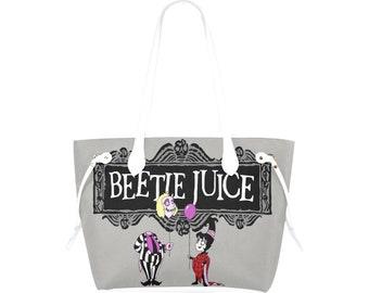 Beetlejuice Canvas Purse | Betelgeuse Purse | Beetlejuice Purse | Beetlejuice Tote | Beetlejuice Bag | Tim Burton Purse | Betelgeuse bag