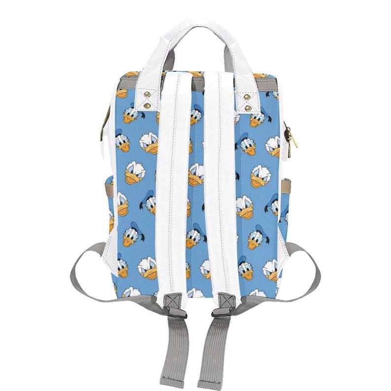 Donald Duck Diaper Bag Backpack Disney Bag Donald Duck Diaper Bag Disneyland Backpack Diaper Backpack   Disney Diaper Bag