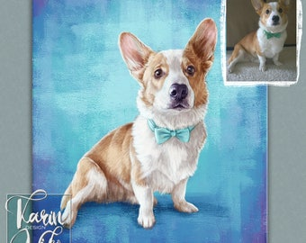 Custom pet portrait, Pet portraits, Personalized pets portrait. Portrait drawing. Custom illustration. Bespoke illustration.