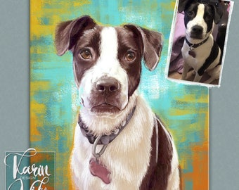 Classic painting portraits , Detailed Pet Portraits , Custom portrait from photo , Custom drawing , Gift for couples , Gift for