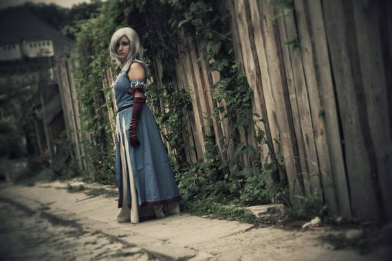 Keira metz inspired dress witcher cosplay witch sorceress larp stopboris Image collections