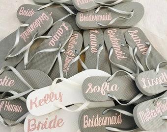 7d4ed223a Bridesmaid Flip Flops