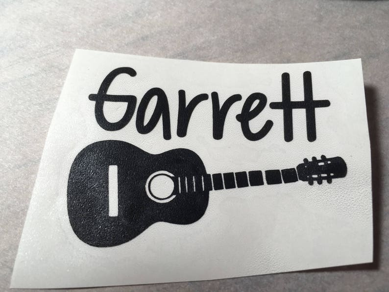 """2.5/"""" Guitar Stripe vinyl decal THE BEST SELECTION OF COLORS"""