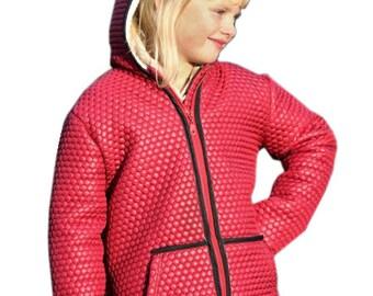GERO zipped jacket - PDF sewing pattern - sizes 110-152 (5-12yr)