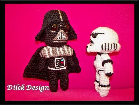 Darth Vader Amigurumi Star Wars by MirthaAmigurumis on DeviantArt | 431x570