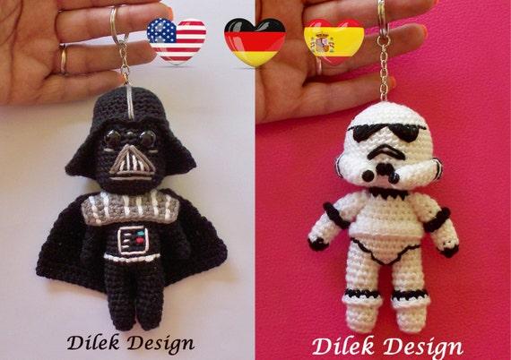 Amigurumi Crochet Pattern Star Wars Darth Vader Etsy Fascinating Star Wars Crochet Patterns