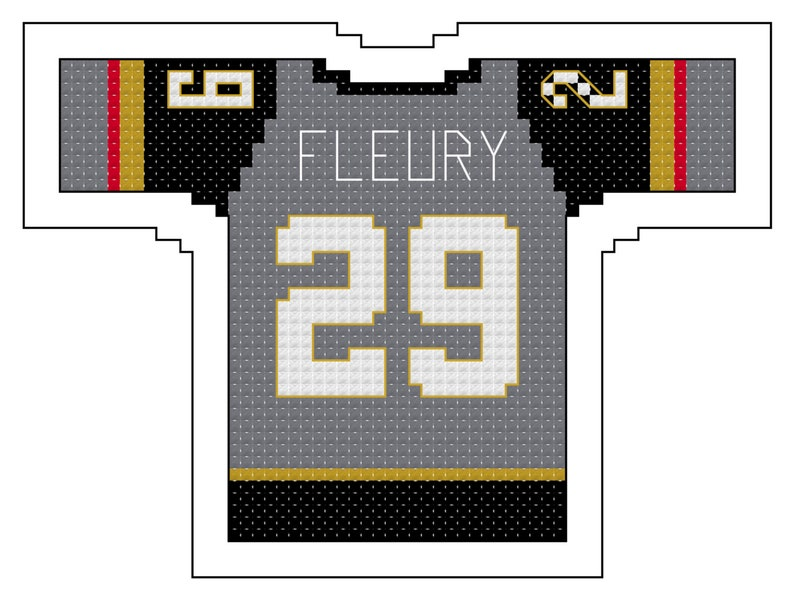 size 40 fdba2 56a3a Marc Andre Fleury Vegas Golden Knight Home Jersey