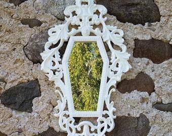 Gothic Victorian Coffin Mirror