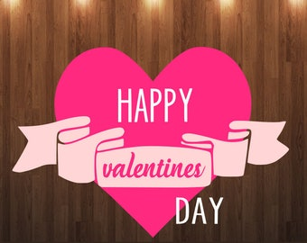 Happy Valentine's Day svg, Hugs and kisses yall, valentine svg, arrow svg file, tshirt mockup svg, onesie mockup svg cut file