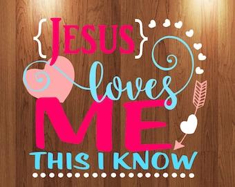 Jesus Loves me this I know svg, heaart svg, arrow svg file, tshirt mockup svg, onesie mockup svg cut file