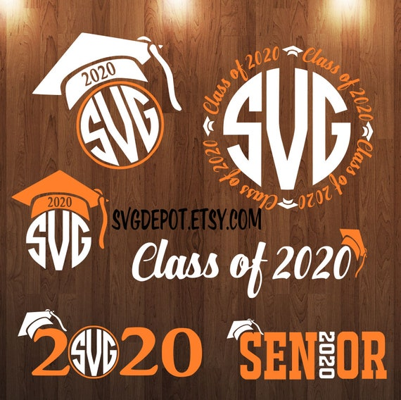 Senior Svg Class Of 2020 Svg Group Digital File
