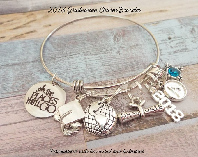 Graduation Gift for 2018, High School Graduation Gift, College Graduation Gift, Gift for High School Graduate, Graduation Jewelry, Girl Gift