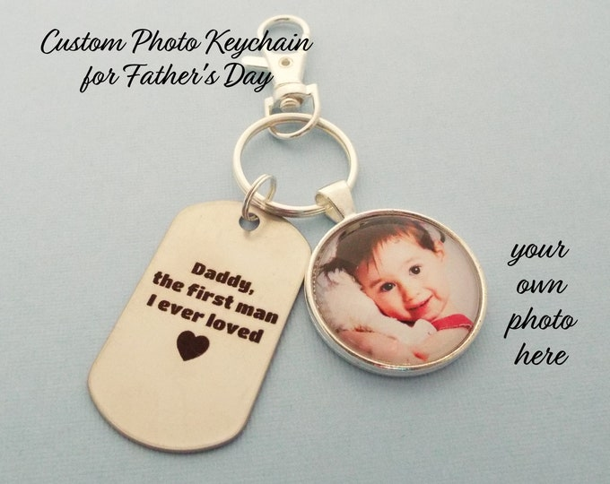 Father's Day Gift for Dad, Keychain Gift for Father, Dad Gift, Gift for Dad from Daughter, Daughter Gift for Father, Gift for Him