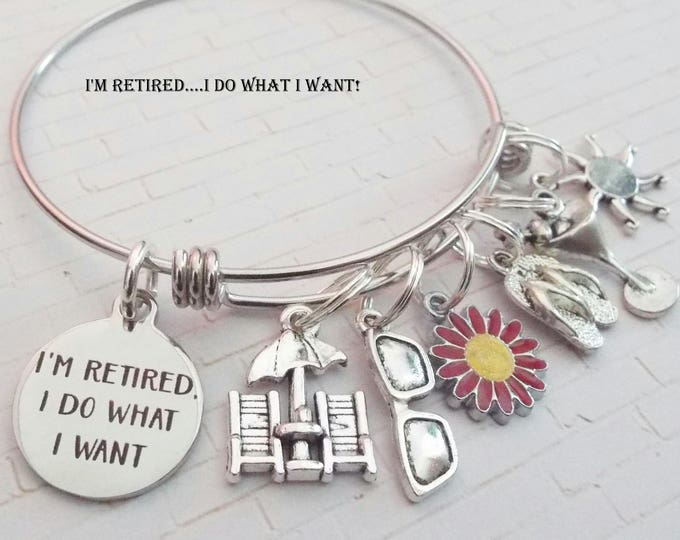 Retirement Gifts for Women, Boss Retirement,  Retiring Gifts, Personalized Retirement Jewelry Gift, Birthstone Jewelry Gift Idea for Her