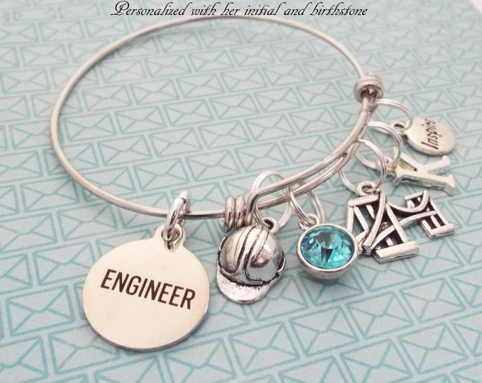 Gift for Engineer, Engineering Gift for Women, Women's Jewelry, Personalized Jewelry Gif, Christmas Gift for Engineer, Graduation Gift