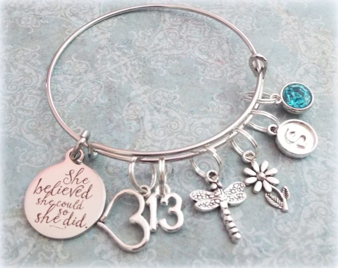 13th Birthday Girl, 13th Birthday Charm Bracelet, Teenage Daughter Gift Ideas, Girls Thirteenth Birthday Gift, 13 Year Old Girl Birthday