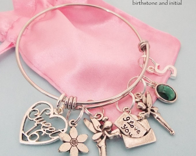 Sweet 16 Gift, Sweet 16 Charm Bracelet, Gift Ideas for Her, Teenage Girl Gift Ideas, 16th Birthday Gift, Sweet 16 Birthday Gift