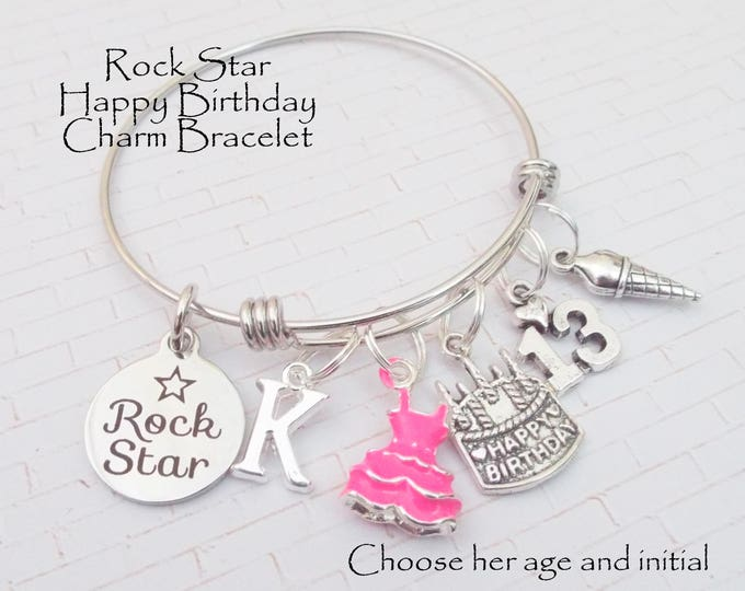 13th Birthday Girl, Gift Idea for 13th Birthday, Teenager Birthday Gift, Jewelry for Teenage Girl, Girls's 13th Birthday Gift, Gift for Girl