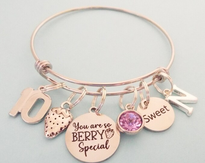 10th Birthday Gift for Girl, Personalized Gift, Daughter Birthday, Gift for Granddaughter, Custom Jewelry, Customized Gift, Gift for Her