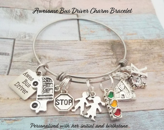 Bus Driver Gift, Bus Driver Appreciation Gift, Child Thank You Gift, Gift Idea Bus Driver, Awesome Bus Driver, Student Gift for Bus Driver