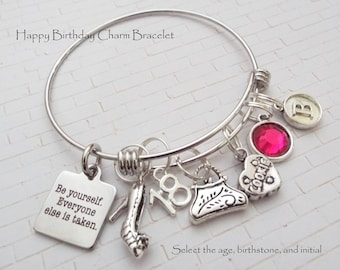 18th Birthday Girl Gift For 18 Year Old Personalized Custom Jewelry Her