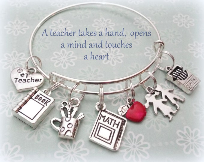 Teacher Appreciation Gift, Thank You Gift for a Teacher, Christmas Gift for Teacher, End of the School Year Gift, Student to Teacher Gift