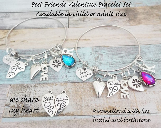 Valentine Gift for Best Friend, BFF Valentine Gift, Best Friend Gift, Birthday Gift for Best Friends, Personalized Gift, Gift for BFF