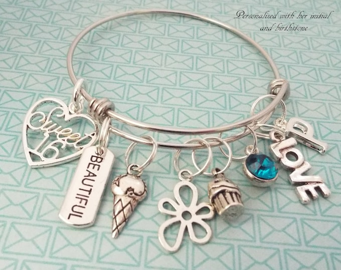 Sweet 16 Gift, 16th Birthday Gift for Girl, Birthday Girl Gift, Gifts for Her, Personalized Jewelry, Personalized Gift, Daughter Birthday