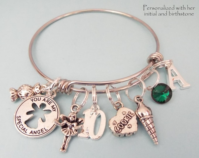 10th Birthday Girl, 10th Birthday Charm Bracelet, 10 Year Old Daughter Gift Ideas, Girls 10th Birthday Gift, 10 Year Old Girl Birthday