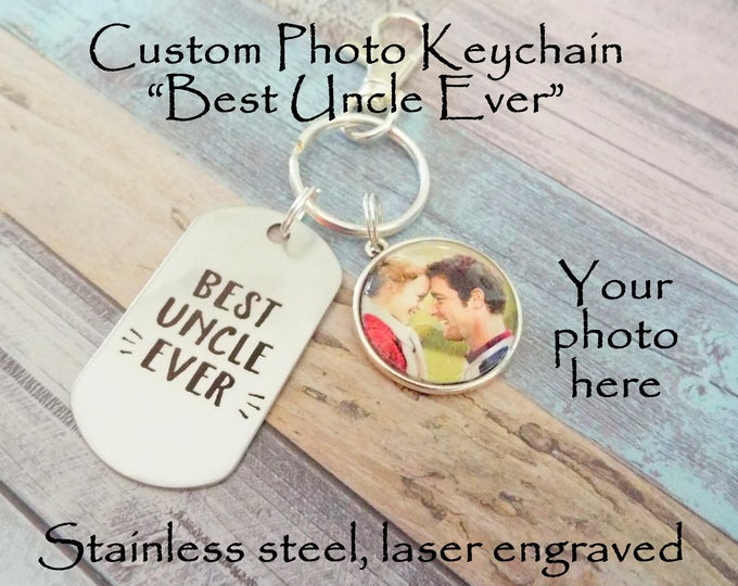 Father's Day Gift for Uncle, Uncle Gift from Niece, Nephew to Uncle Gift, Child Gift to Uncle, Personalized Gift, Gift for Him, Men's Gift