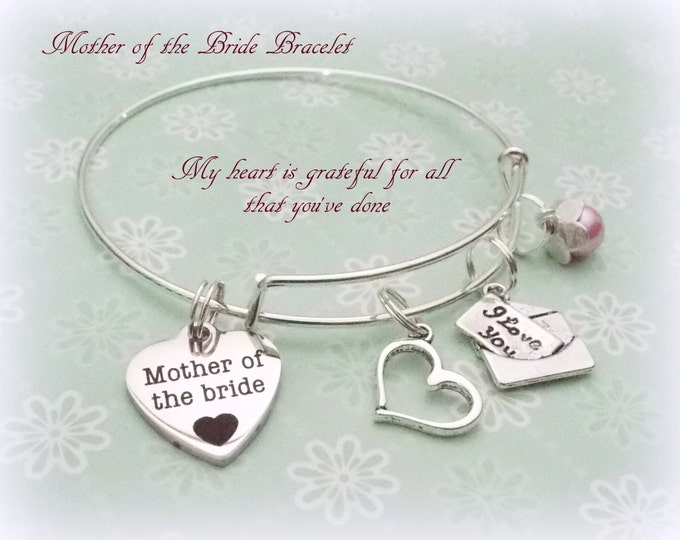 Mother of the Bride Gift, Gift for Bride's Mother, Mother of the Bride Jewelry, Bridal Jewelry, Bridal Gifts, Bridal Party Gifts