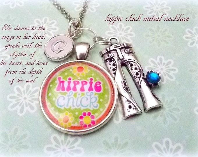 Hippie Gift Necklace, Hippie Girl Gift, Bohemian Jewelry, Boho Girl Gift, Custom Jewelry, Women's Jewelry, Gift for Her, Girl's Birthday