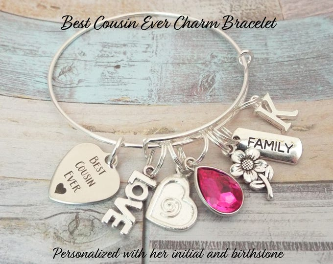 Gift for Cousin, Cousin Gift, Cousin Birthday Gift, Gift for Her, Women's Jewelry, Personalized Gift, Personalized Jewelry, Birthday for Her