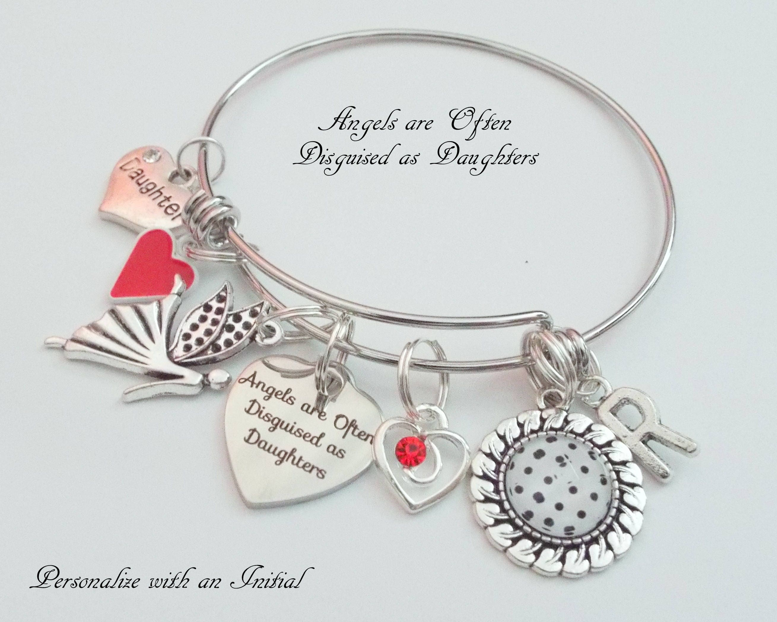 Birthday Gift For Daughter Ideas Happy Charm Bracelet Personalized Jewelry