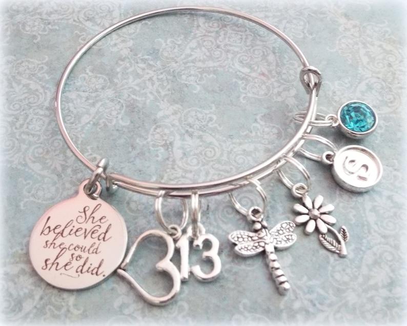 13th Birthday Girl Charm Bracelet Teenage