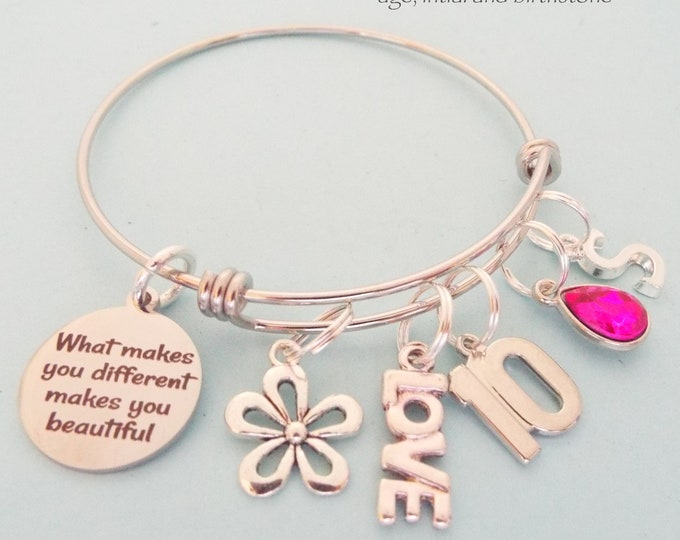 Girls' 10th Birthday Gift, Charm Bracelet for Girl Turning 10 Years Old, Personalized Gift Daughters Birthday, Gift for Her, Niece Gift