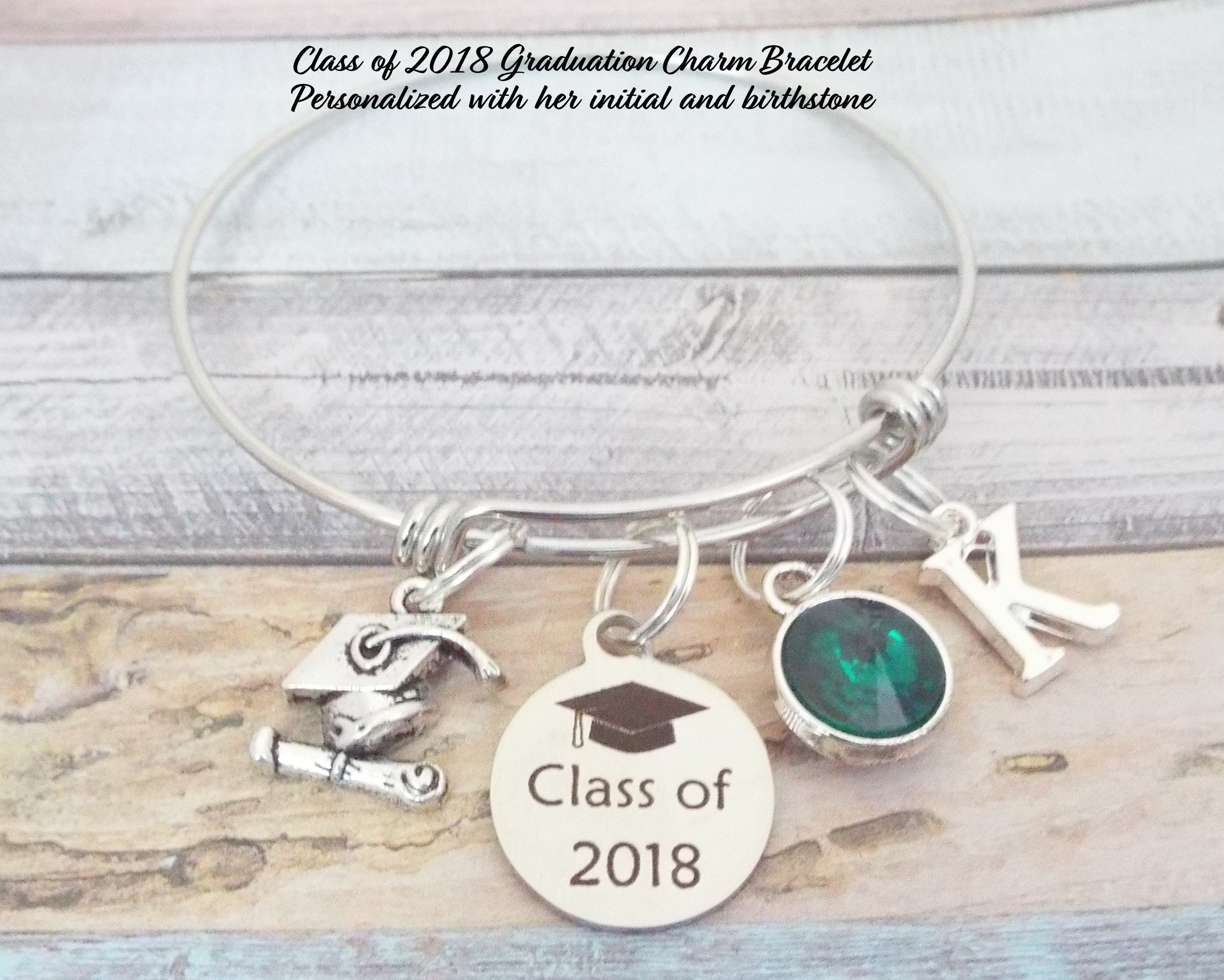 graduation planet layering globe charm bracelet love tiex travel listing earth fullxfull world il gift the ball