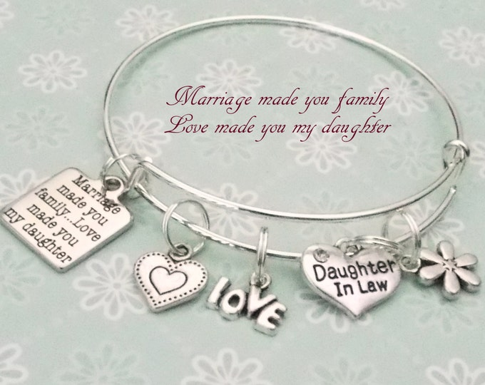 Daughter in Law Gift, Gift for Daughter in Law, Mother to Daughter Gift, Daughter in Law Birthday, Gift Idea for Her, Daughter in Law Gift